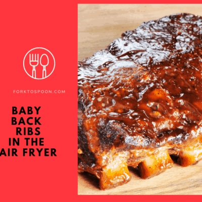 Air Fried-Air Fryer-How To Cook Babyback Ribs in the Air Fryer