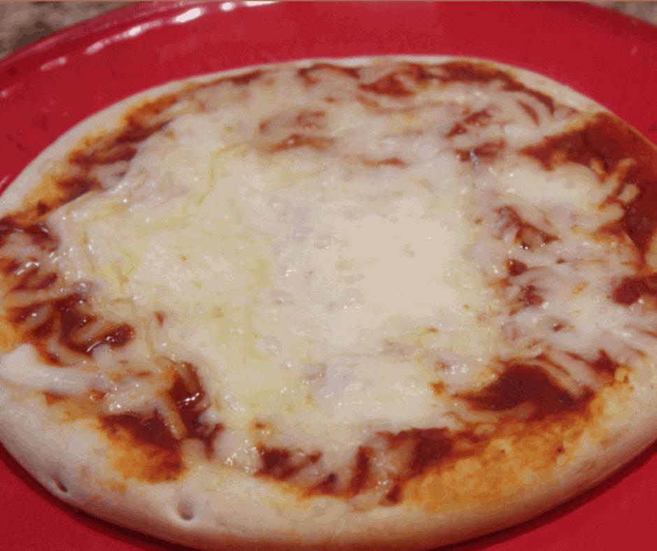 Air Fryer, Homemade Cheese Pizza