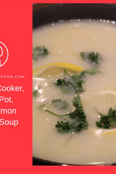Pressure Cooker, Instant Pot, Greek Lemon Chicken Soup