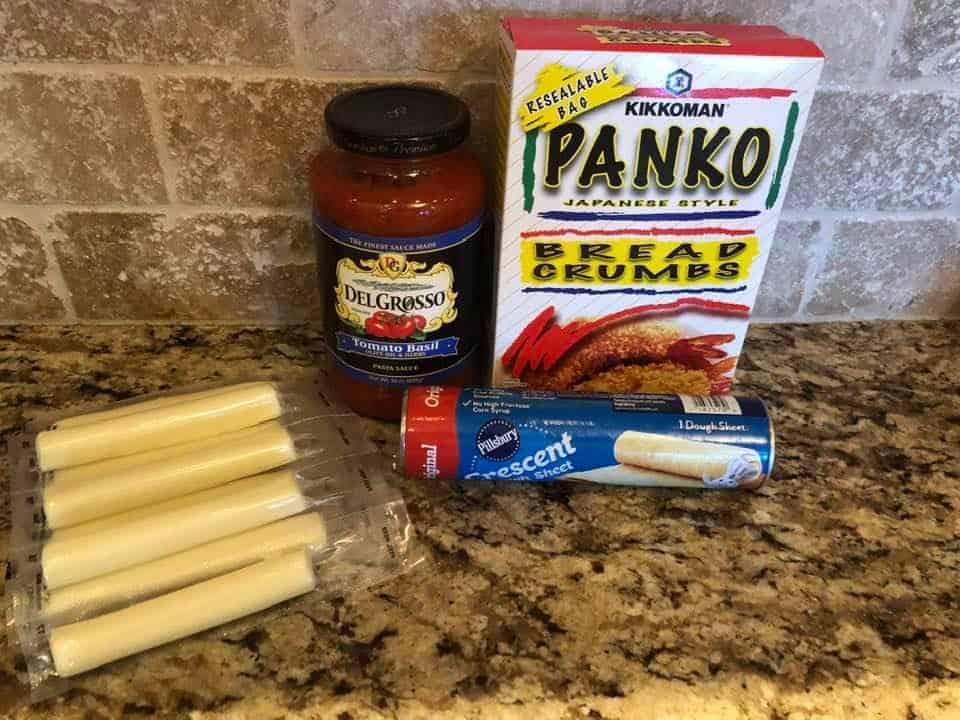 Ingredients Needed For Air Fryer Mozzarella Bites