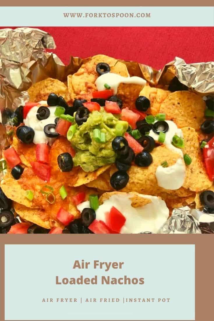 Air Fryer Loaded Nachos