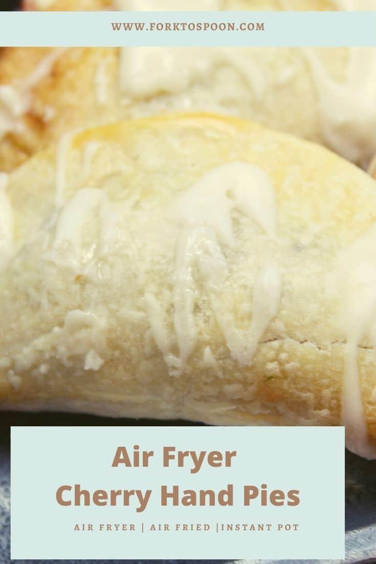 Air Fryer Cherry Hand Pies