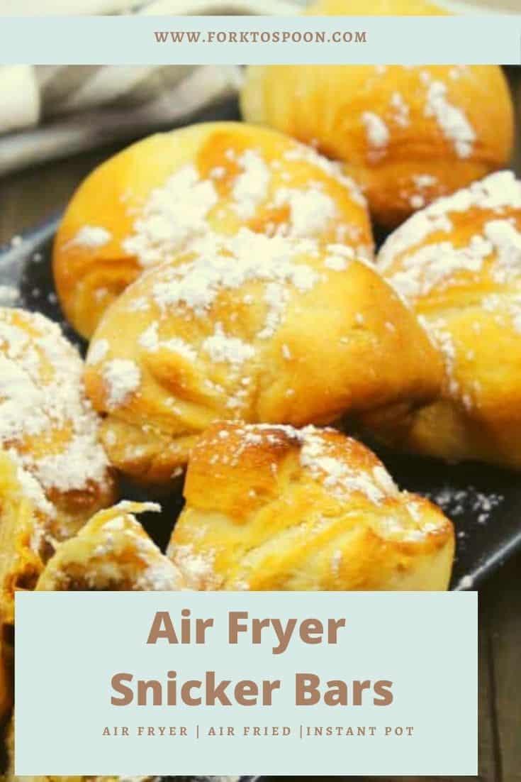 Air Fryer Snicker Bars