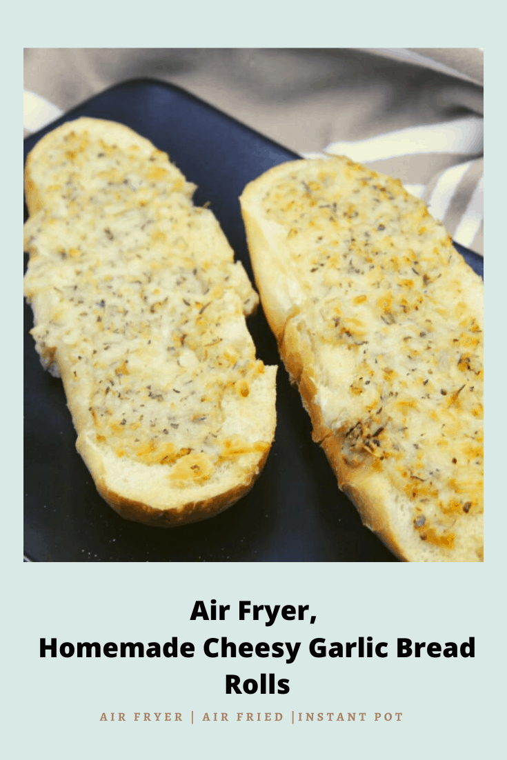 Air Fryer Cheesy Bread
