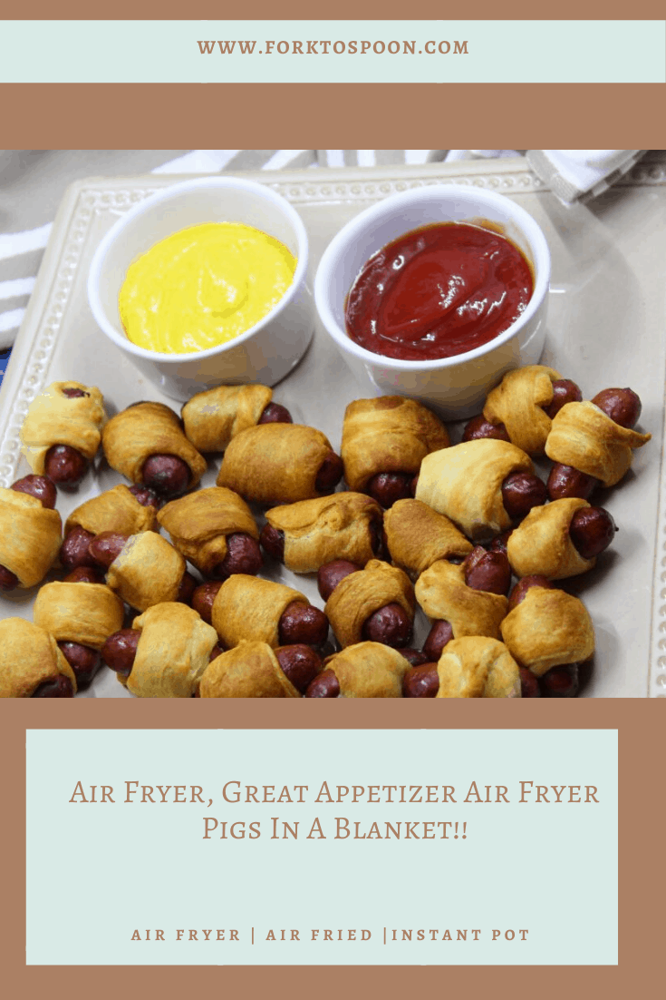 Air Fryer PIgs in a Blanket