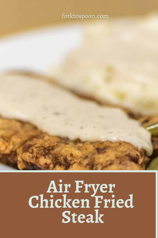 Air Fryer Chicken Fried Steak
