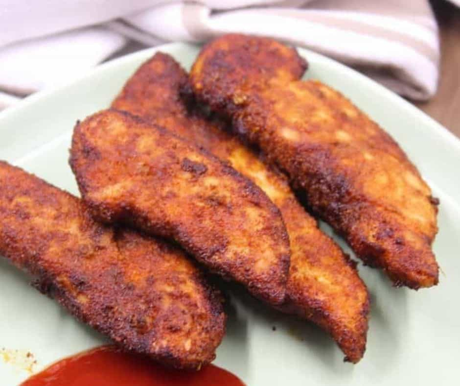 Air Fryer Naked Chicken Tenders