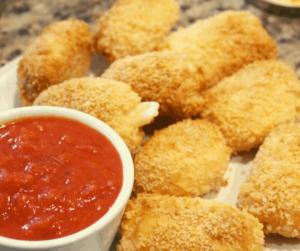 Air Fryer Mozzarella Bites