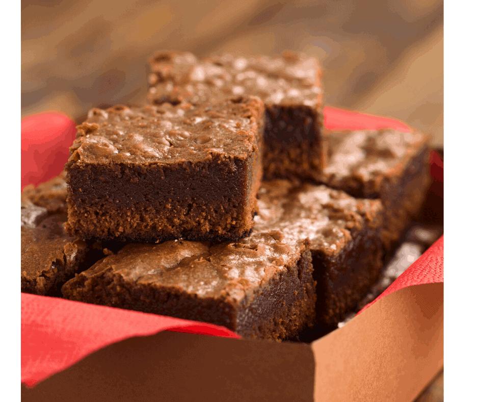 Air Fryer, Gluten-Free, Flourless Fudgy Brownies