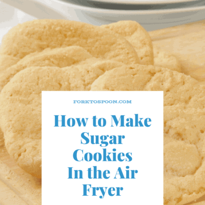 Air Fryer-Air Fried- How to Make Sugar Cookies in the Air Fryer