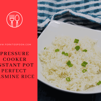 Pressure Cooker, Instant Pot, Perfect Jasmine Rice