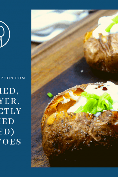 Air Fried, Air Fryer, Perfectly Cooked (Baked) Potatoes
