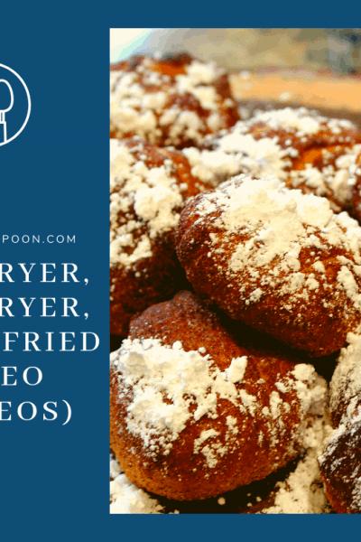 Air Fryer, Air Fried, Deep Fried Oreos, Air Fried Oreos, YUMMY!
