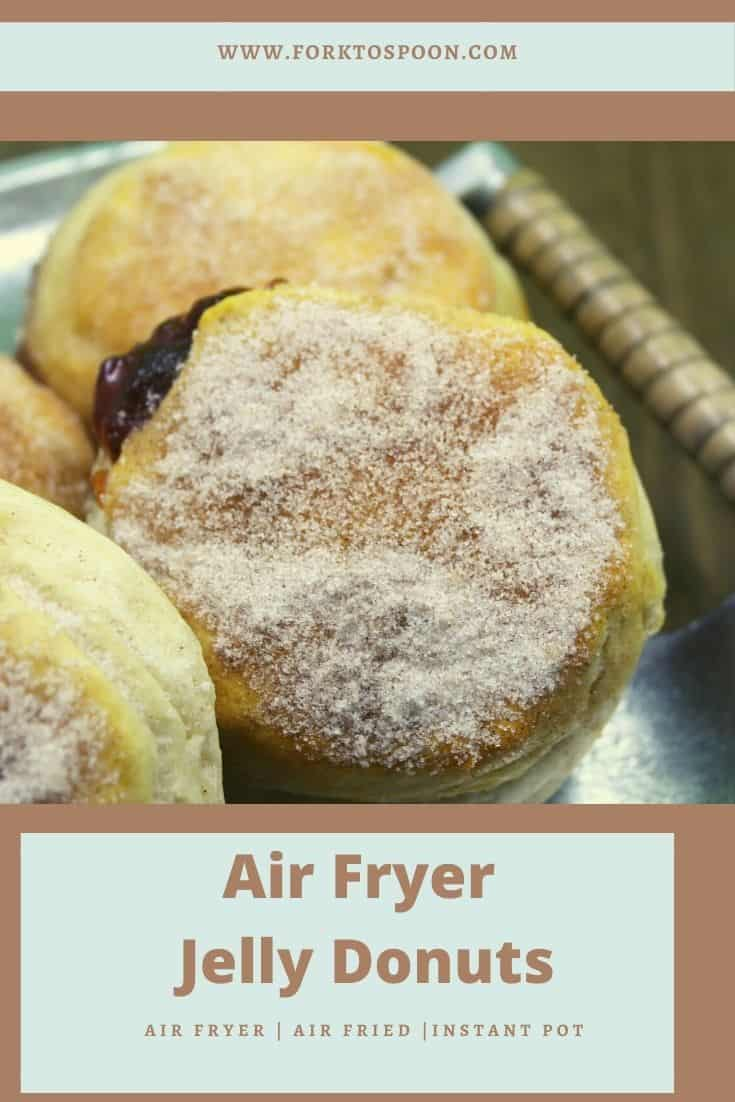 Air Fryer Jelly Donuts