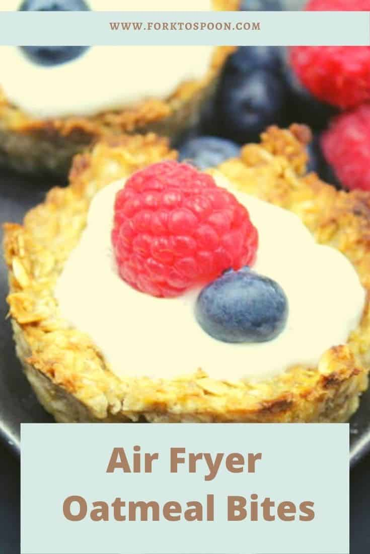 Air Fryer Oatmeal Bites