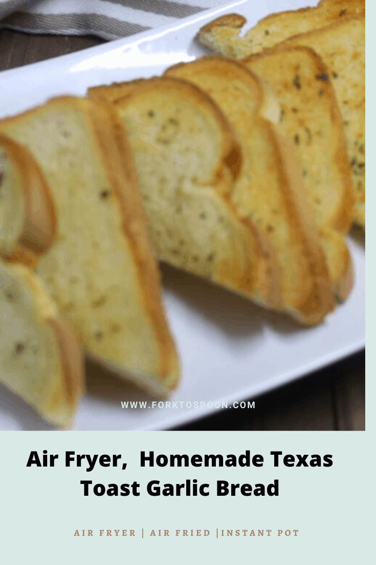 homemade texas toast garlic bread