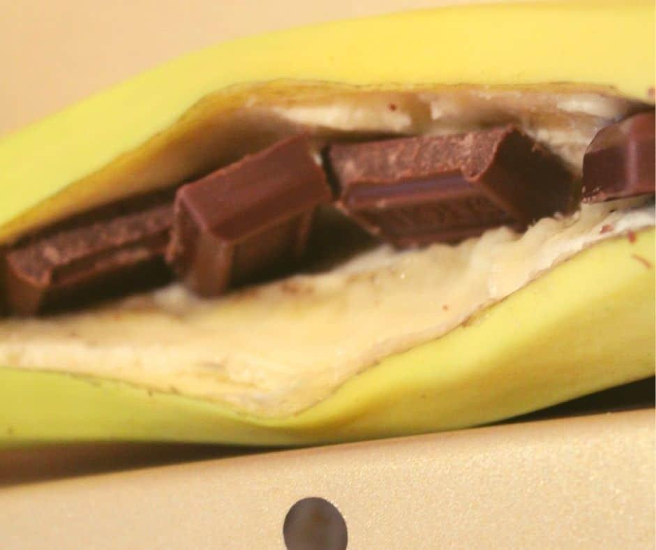 Candy Bars in Banana