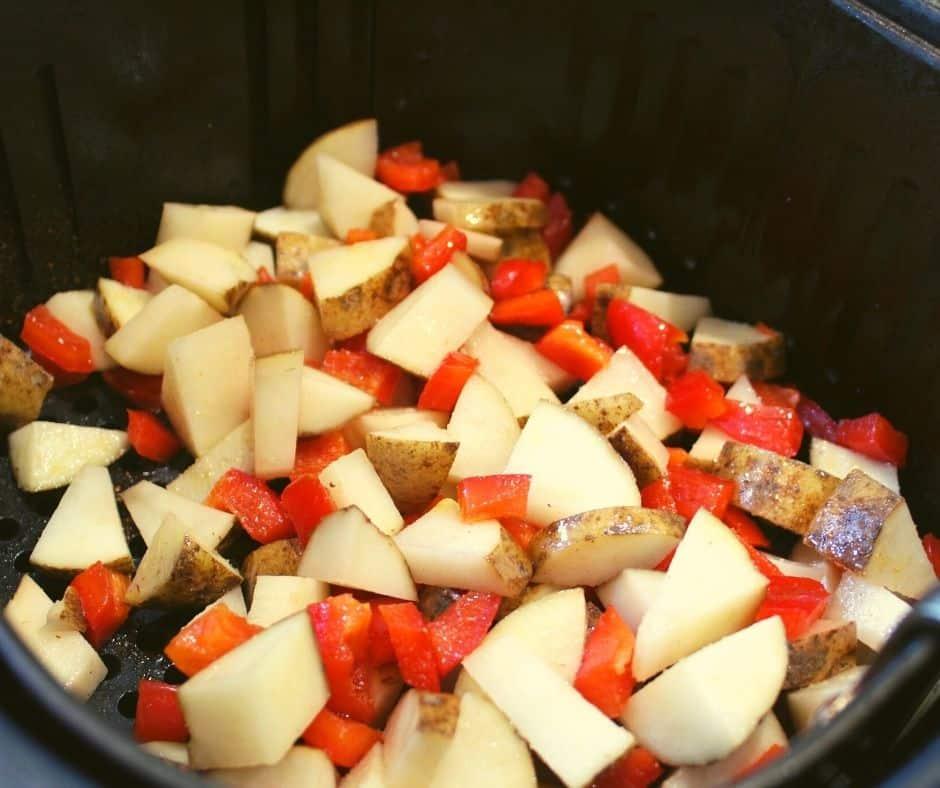 Cut Breakfast Potatoes