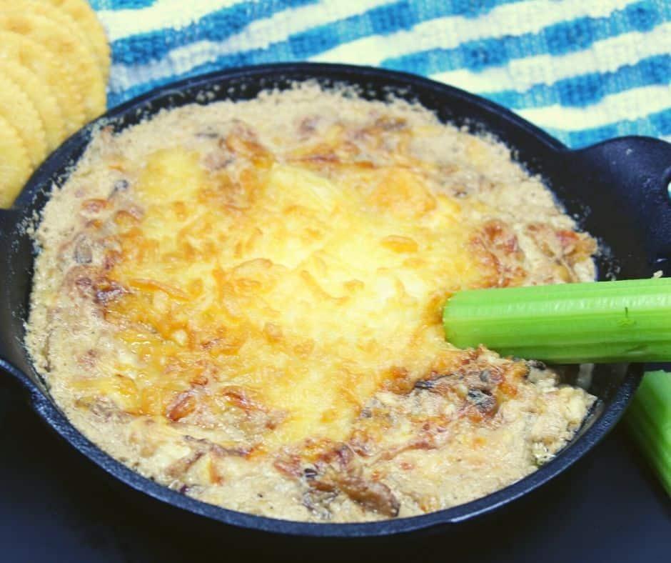 Air Fryer French Onion Dip