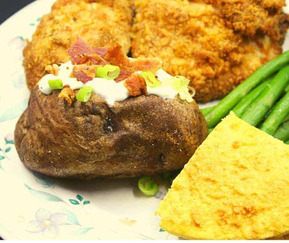Air Fryer Jacket Potatoes