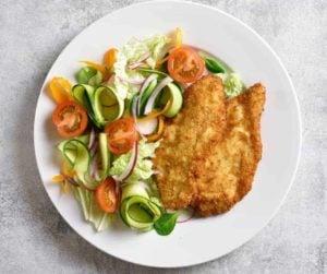 Breaded Air Fryer Chicken
