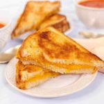 Air Fryer Grilled Cheese Sandwich