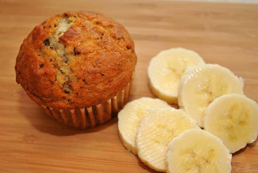 Air Fryer Banana Nut Muffins