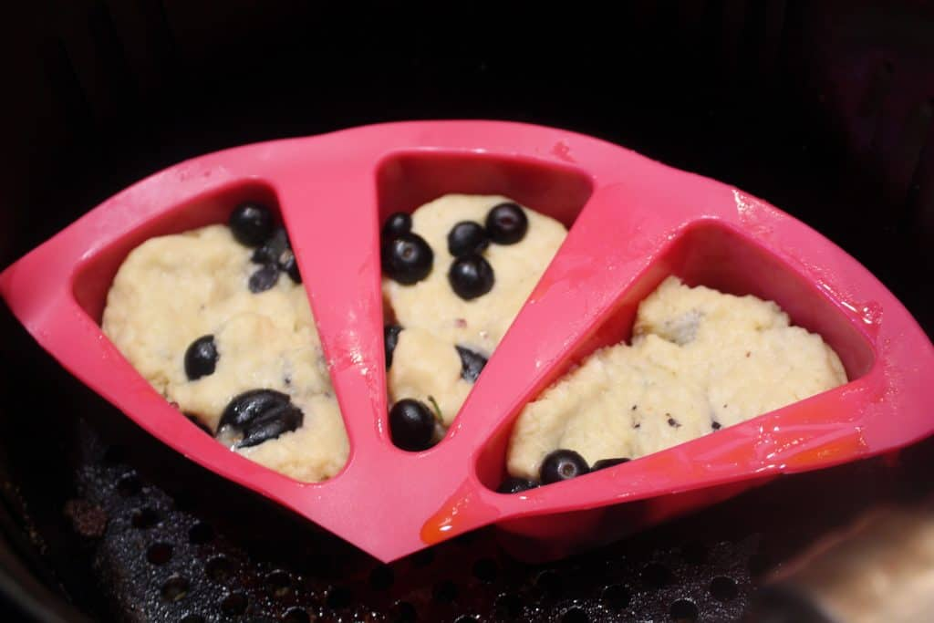 Blueberry Scone In Pan