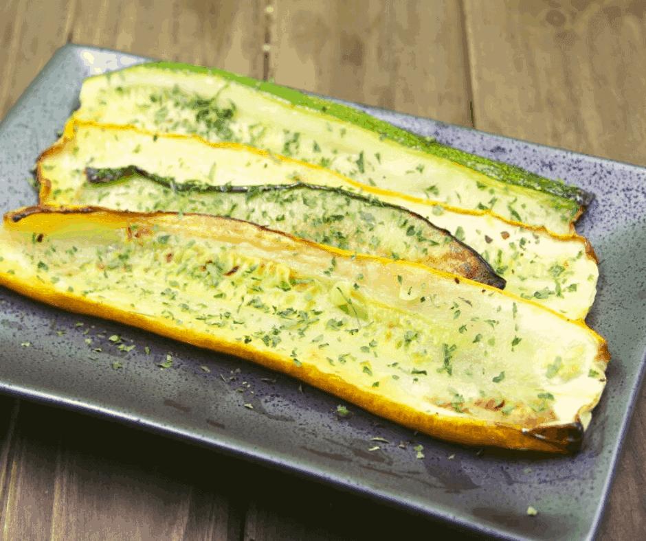 Air Fryer Zucchini and Summer Squash