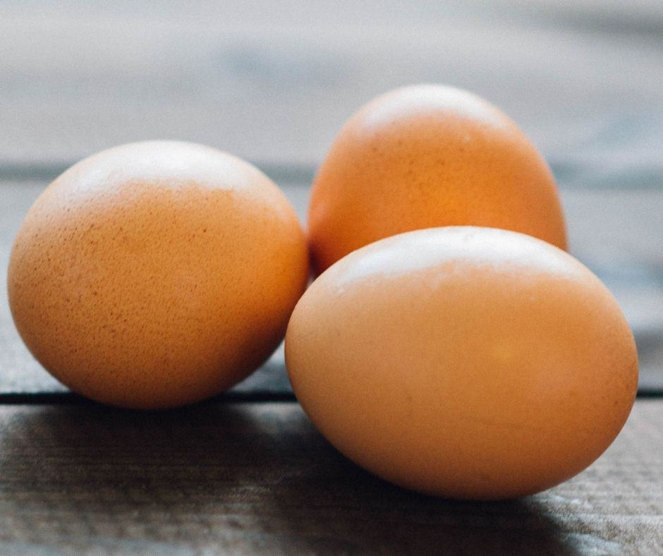 Ingredients For Air Fryer Soft Boiled Eggs