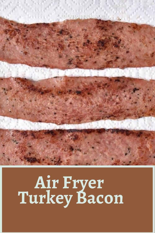 Air Fryer Turkey Bacon