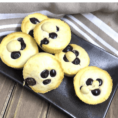 Air Fryer,  Blueberry Pancake Muffins Poppers
