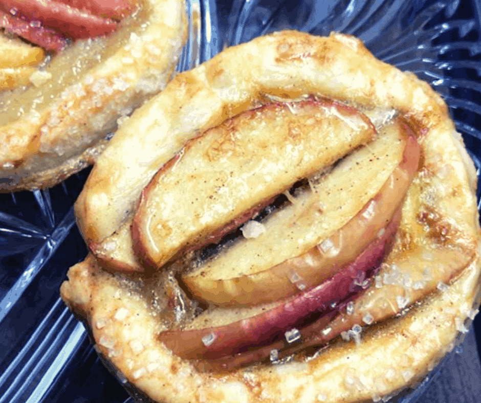 Air Fryer apple Gallette