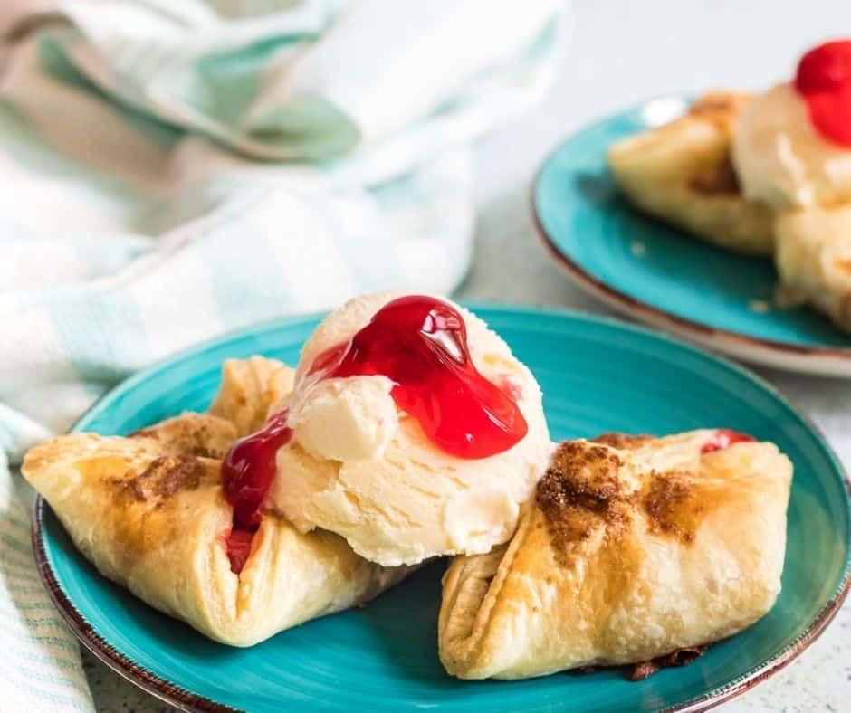Air Fryer Best Cherry Turnovers