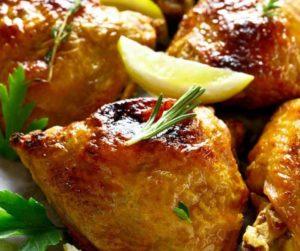 Air Fryer Honey Garlic Chicken Thighs