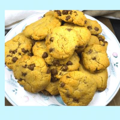 .Air Fryer, Homemade Chocolate Chip Cookies