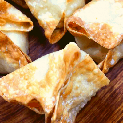Air Fryer, The Easiest Crab Rangoons You Will Ever Make!