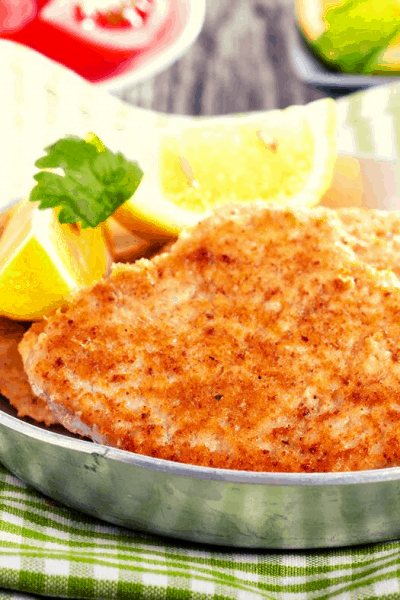 Air Fryer, Air Fried, Parmesan Roasted Chicken Cutlets