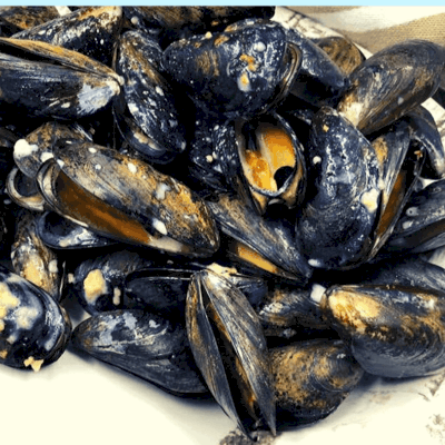 Air Fryer, Air Fried Classic French Mussels