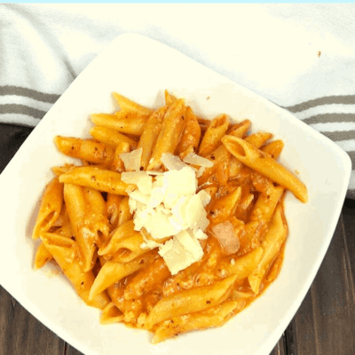 Pressure Cooker, Instant Pot, Quick, Easy and Tasty Penne Alla Vodka