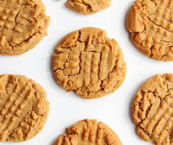 Air Fryer Peanut Butter Cookies