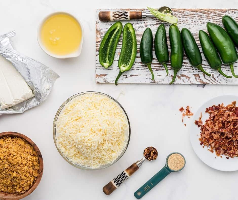 Ingredients In Air Fryer Stuffed Jalapenos