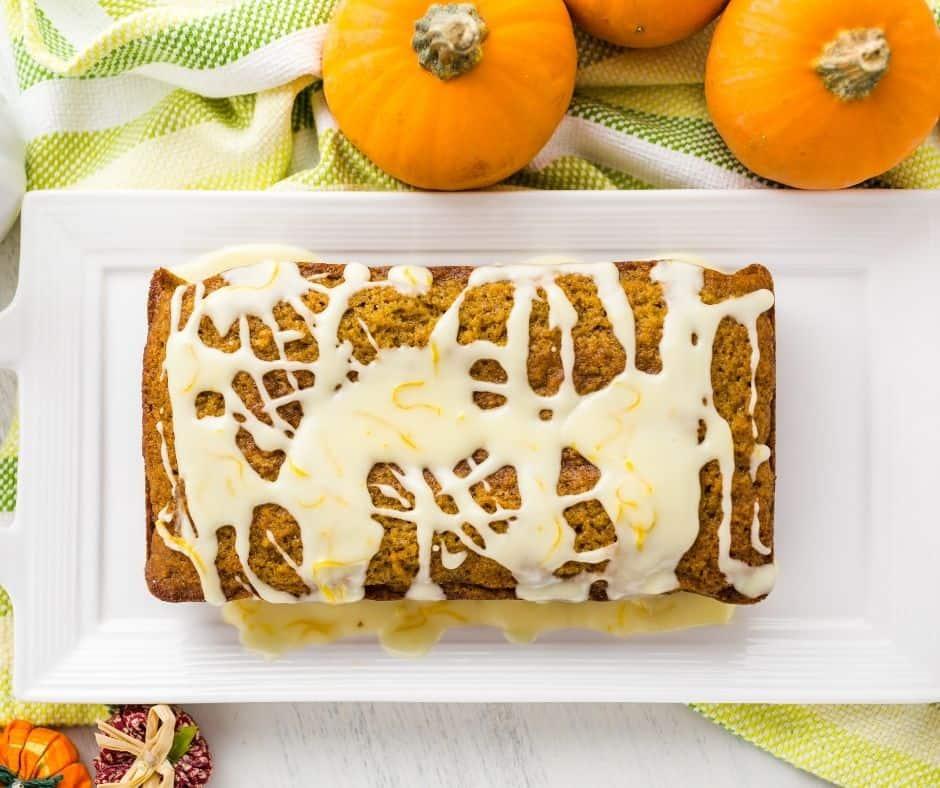 Air Fryer Pumpkin Banana Bread
