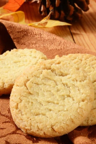 Air Fryer, French Vanilla Cake Mix Cookies