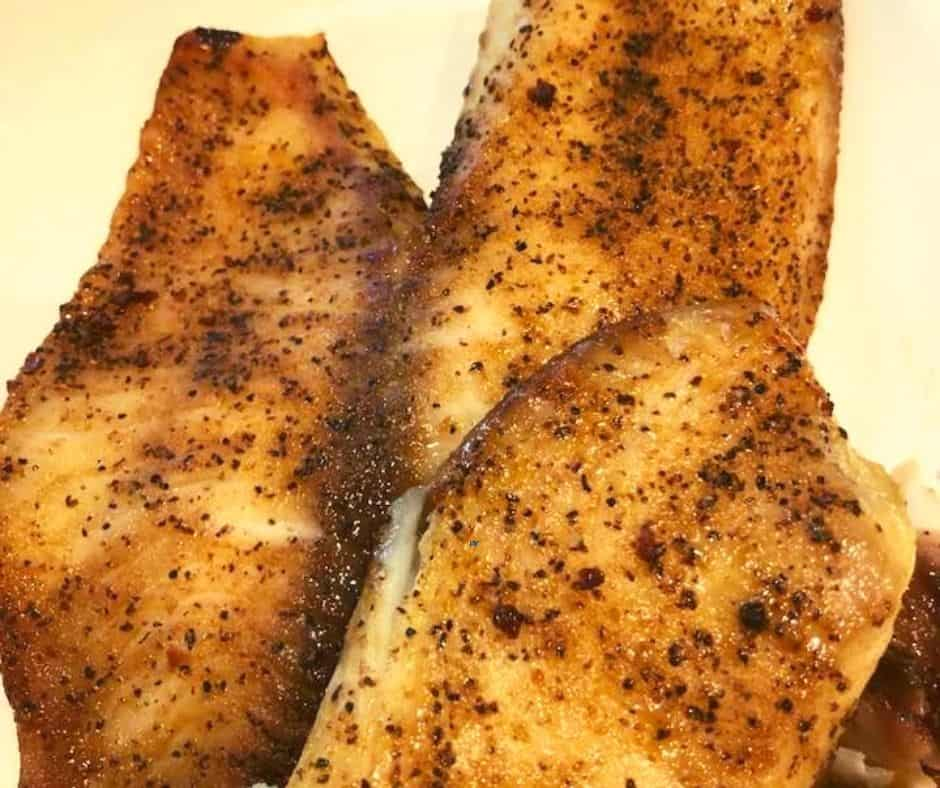 Air Fryer Blackened Tilapia