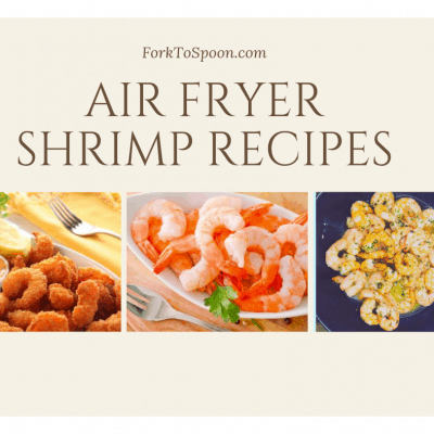 Round-Up of The Best Shrimp Recipes For The Air Fryer