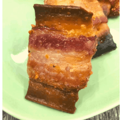 Air Fryer, Bacon Wrapped Crackers, A Great Appetizer