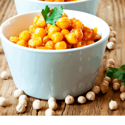 Air Fryer (Air Fried)–Roasted Pizza Chickpeas