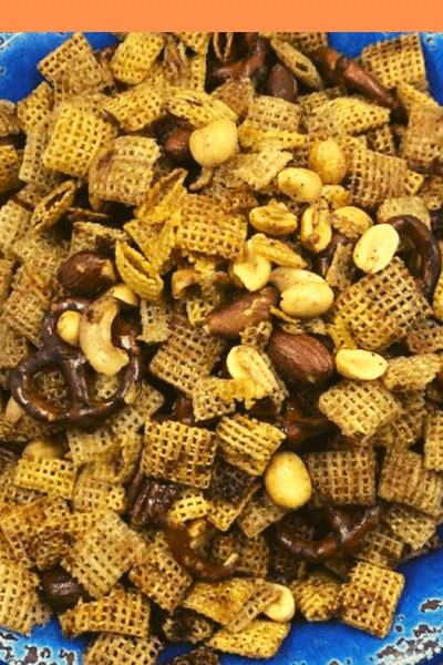 Air Fryer, Air Fried, Homemade Original Chex Party Mix