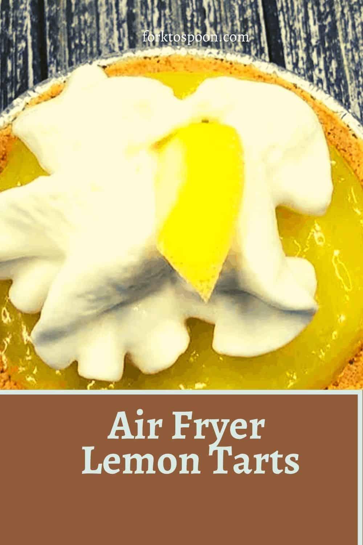 Air Fryer Lemon Tarts
